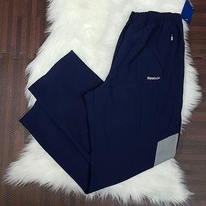 NWT Long Blue Reebok Workout/Casual Pants